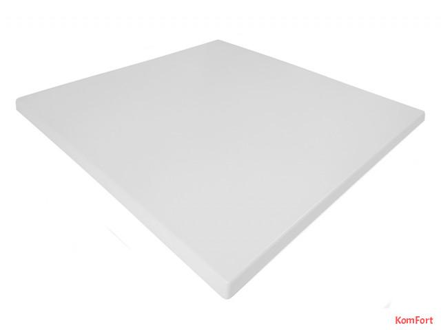 Стільниця Werzalit by Gentas 800x800 мм  3101 Білий
