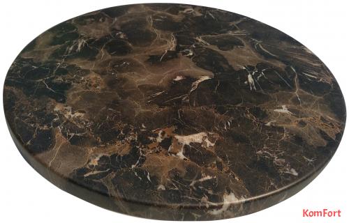 Столешница Werzalit by Gentas D 800 мм 5658 Караджабейский мрамор
