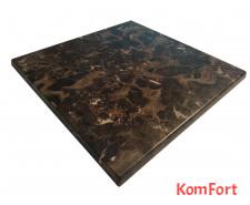 Столешница Werzalit by Gentas 800x800 мм 5658 Караджабейский мрамор