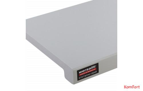 Подоконник Werzalit Exclusiv Светло-серый 018
