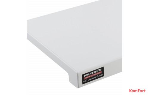 Подоконник Werzalit Exclusiv снежно-белый 400