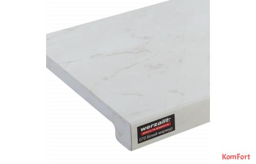 Подоконник Werzalit Exclusiv Белый мрамор 070
